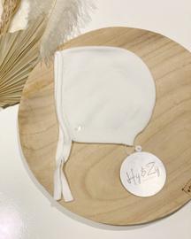 Wedoble bonnet - blanco