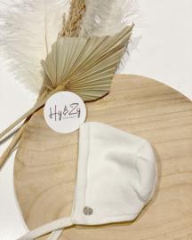 Paz Rodriguez  bonnet - cream
