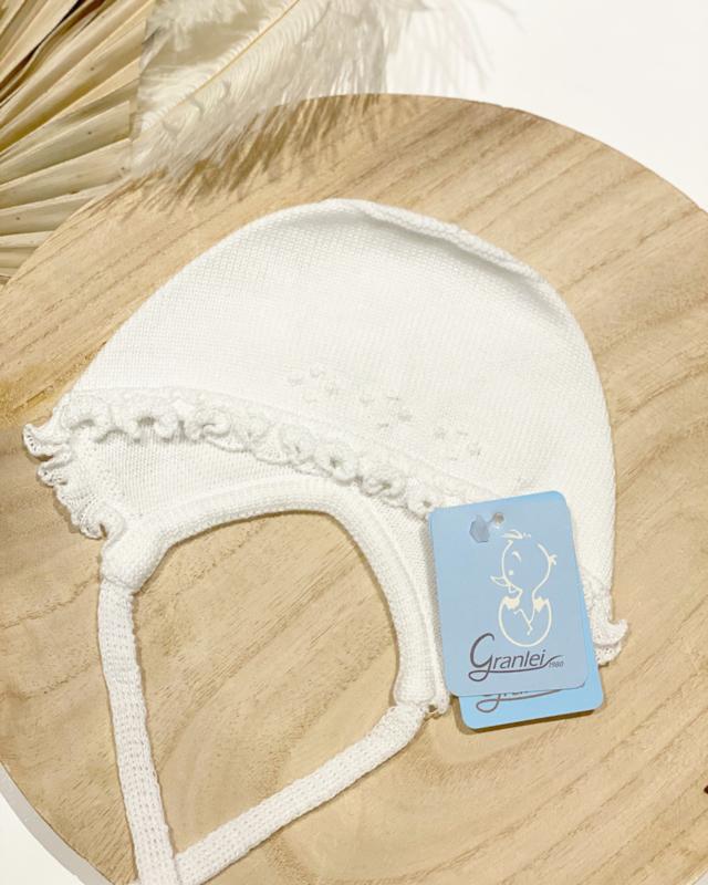 Granlei bonnet - blanco