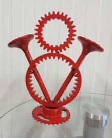 V8 Power logo -  Rood