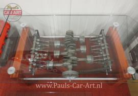 Clear Motion Porsche Flat-Six Salontafel