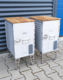 KLM Aircraft Galley Box  sidetable