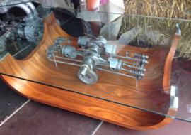 Clear Motion VW kever Aircooled Salontafel