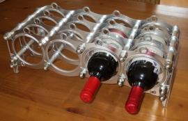 Koppakking wijnrek