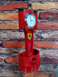 Ferrari 348 V8 Piston clock