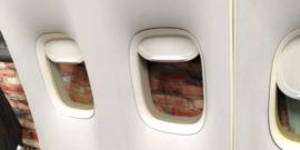 Boeing 747 binnenwand - deco item