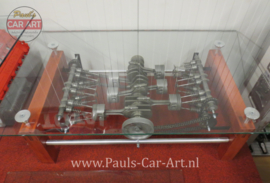 Clear Motion Porsche Flat-Six Salontafel