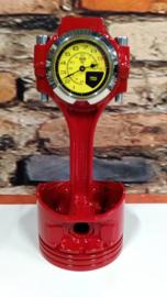 Italiaanse Super Car Piston clock