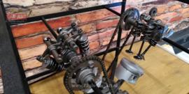 Clear Motion Honda Twin motorfiets tafel