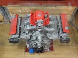 Maserati V6 motorbloktafel