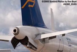 Airbus A320 APU Exhaust spiegel