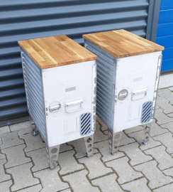 KLM Vliegtuig Galley Box Bijzettafel, sidetable