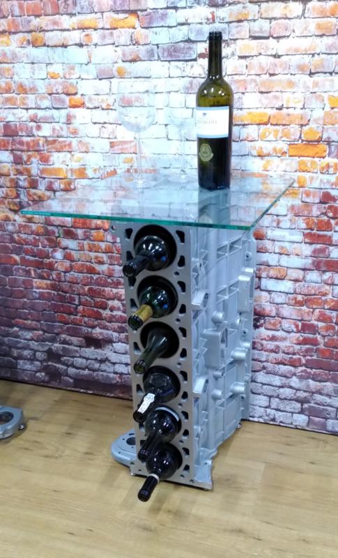 Jaguar 6 cilinder Wijnrek / sidetable