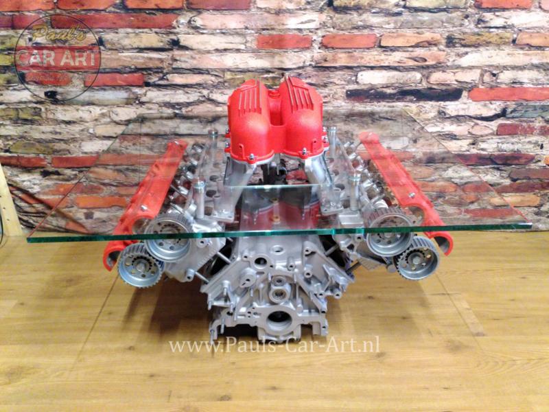 Ferrari V8 motorbloktafels