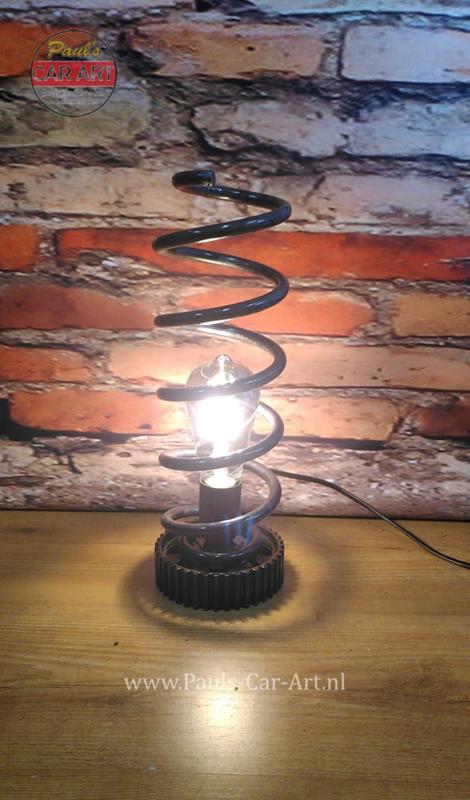 Industrial Spring Lamp