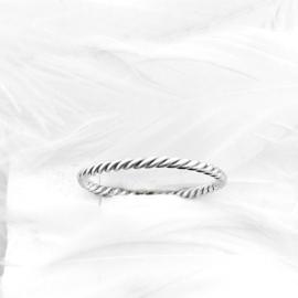 Stapel ring Twist