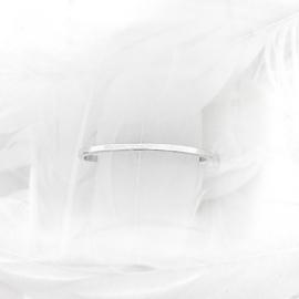 Stapel ring vierkant shiny