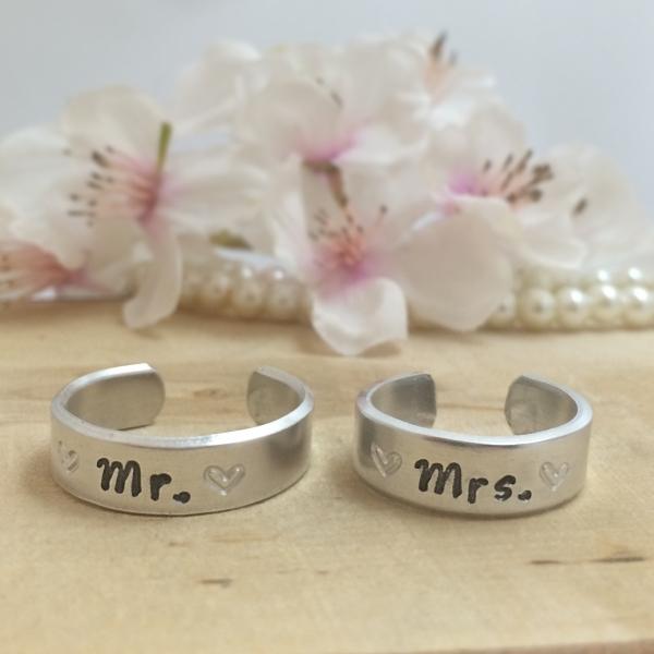 Trouwringen Mr en Mrs