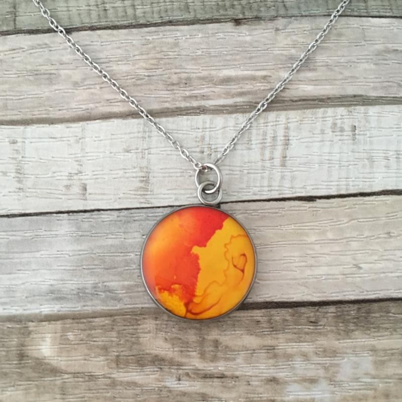 Flow! klein oranje