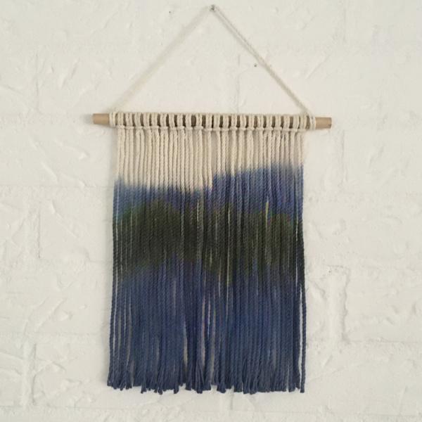 Wandhanger blauw