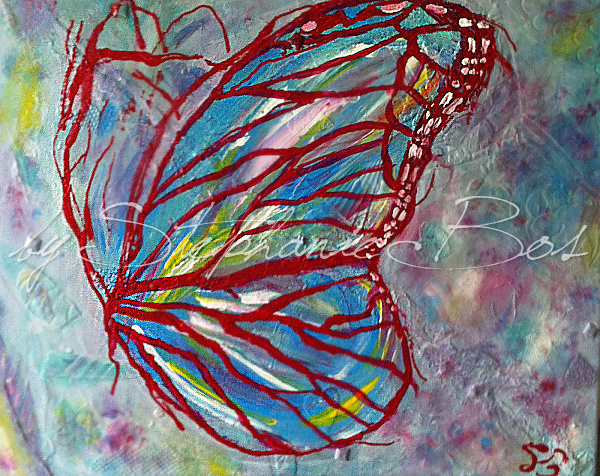 Schilderij Vlinder