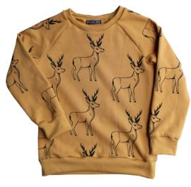 Daphne Vos - Sweater Hertjes maat 110