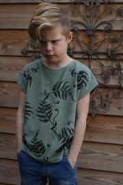 Oversized  shirt  korte mouw