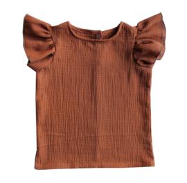 Shirt Vlindermouw
