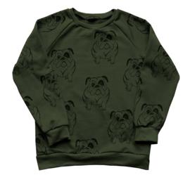 Daphne Vos - Sweater Bulldog maat 134