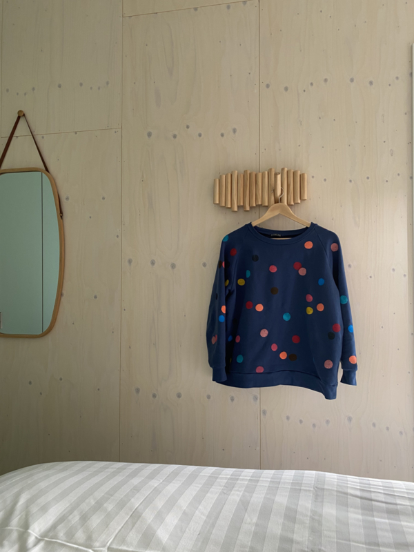 Daphne Vos - Sweater Dots Navy