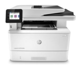 HP All-in-one printer zwart/wit (Ethernet)