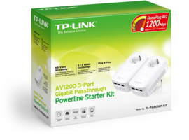 TL-PA8030P KIT (2 stuks, Powerline Adapters)