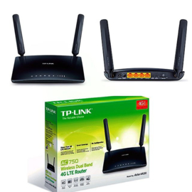 AC750 Draadloze Dual Band 4G LTE Router Archer MR200