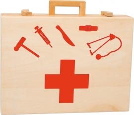 Dokterskoffer rood
