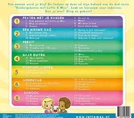 CD kinderliedjes met Lotte en Max