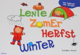 Vertelplatenset Lente, Zomer, Herfst, Winter.