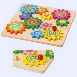 Puzzel tandwielen