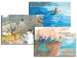 Bijbelse vertelplaten 'De ark van Noach'