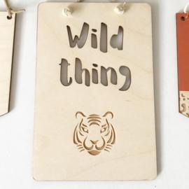 Hanger 'Wild thing'
