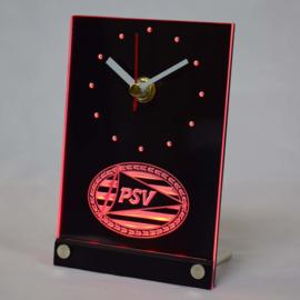 3D Led klok met verlichting PSV