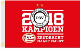 PSV Kampioen 2018 Vlag
