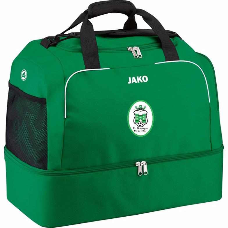JAKO Sporttas met bodemvak (FC Grootegast)
