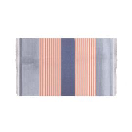 Towel To Go Bali blauw/ oranje