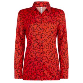 Zoso HR 1908 Travel printed blouse