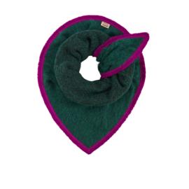 POM sjaal Fluffy Green