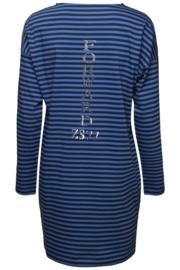 Zoso 194Forward Striped long shirt