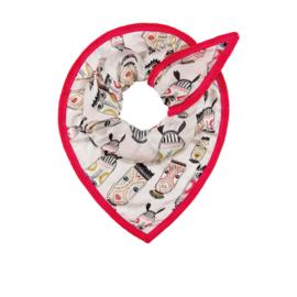POM sjaal Tribal Masks Pink 563