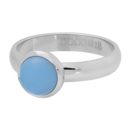 iXXXi ring R04312-03 matt violet stone 10 mm zilver