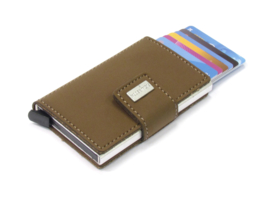 Card protector zandkleur