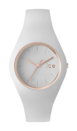 Ice Watch horloge ICE Glam white rose gold medium